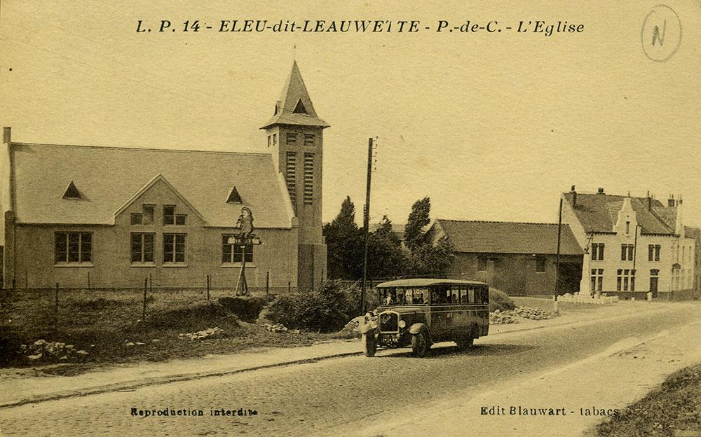 La place Virel vers 1930