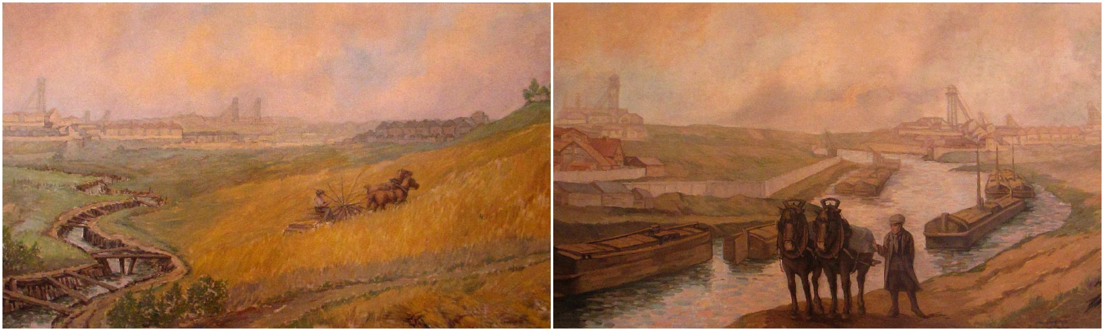 Deux tableaux de 1932 signés Albert Graf